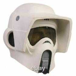 Xcoser SW Scout Trooper Helmet Cosplay Mask Movie 11 Scale Costume Prop For Men