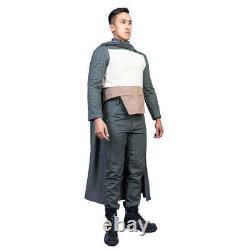 Xcoser The Mandalorian Costume Cosplay Prop Helmet ESB Soft Parts Jump Suits US