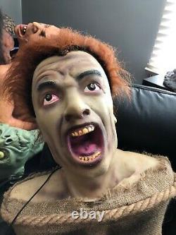 Zombie Bait Spirit Halloween Prop Gemmy Morbid Rare Htf